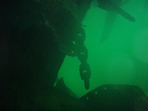 Madeira shipwreck