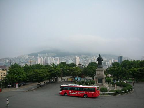 Yeongdo seen from Yongdusan Park
