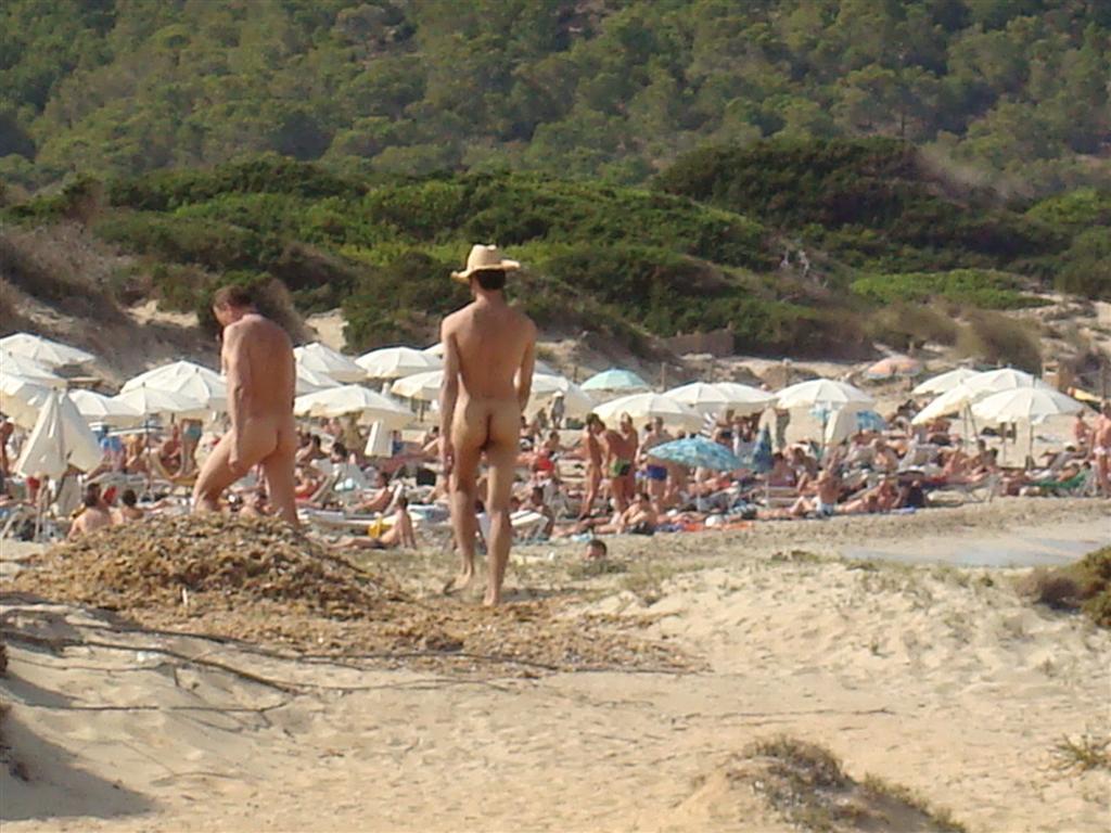 Playas nudistas en ibiza