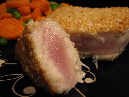 Sesame Seared Albacore Tuna Steak