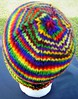 Adult Rainbow Rollbrim Hat