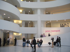 New York. Guggenheim Museum. James Rosequist