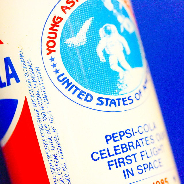 Pepsi Cola Celebrates the First Flight in Space