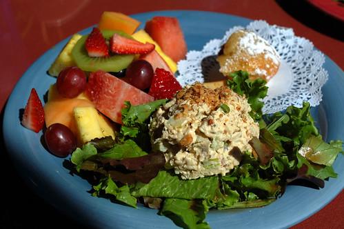 African Ginger Peanut Chicken Salad Recipe