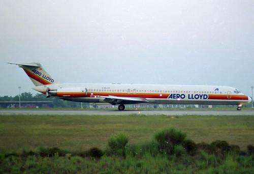 Aero Lloyd MD-83 D-ALLD GRO 13/07/1989