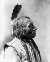 Fast Thunder, Oglala Sioux, by Heyn Photo, 1900