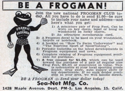 Be A Frogman!