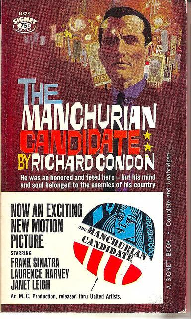 vintage paperback--manchurian candidate
