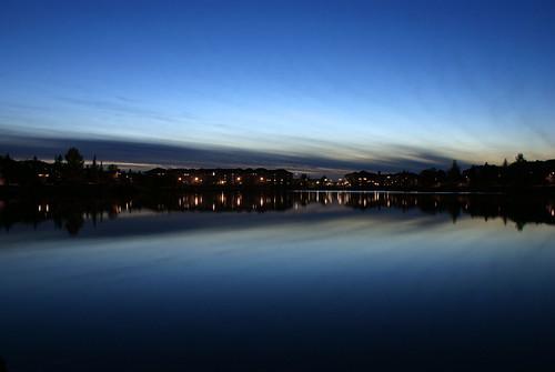 night long exposure edmonton dusk sony alberta 300 alpha beaumarislake