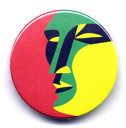 Man portrait - new button