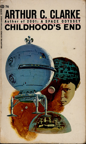Hilarous cover art for Childhood's End