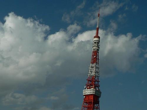 東京タワー 晴れ