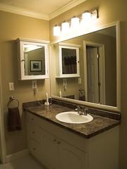 floor, countertop, room, property, interior design, cabinetry, home, bathroom, lighting, sink,