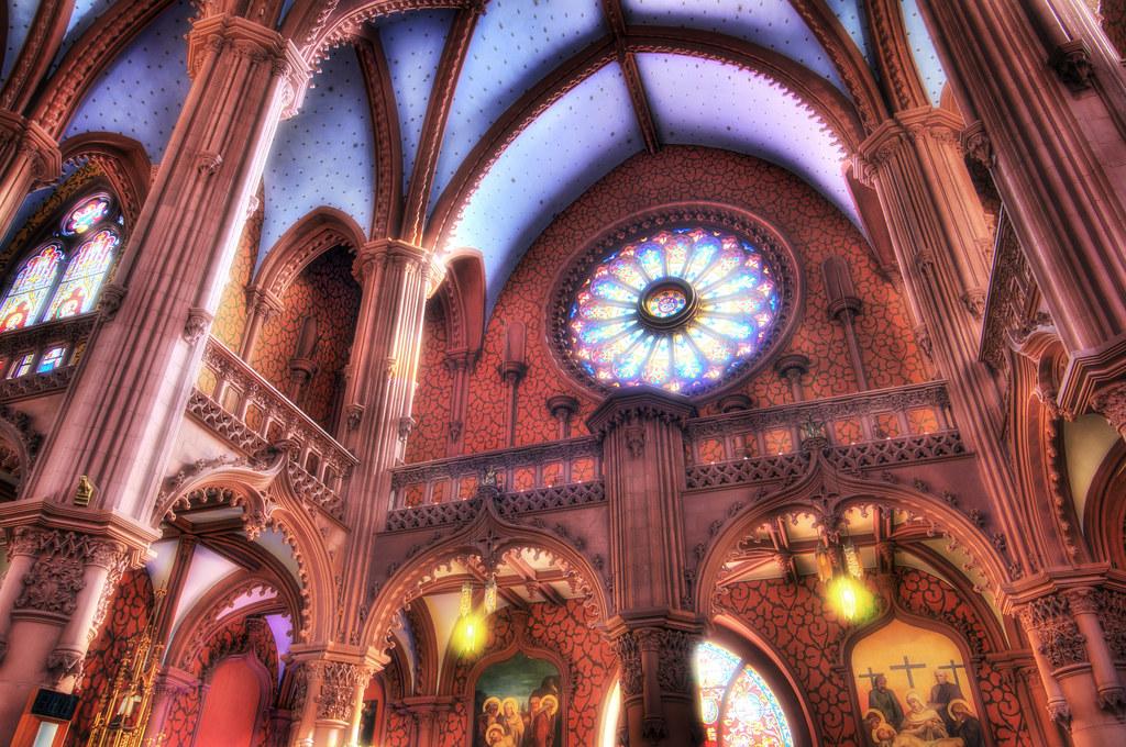 Dreamlike church