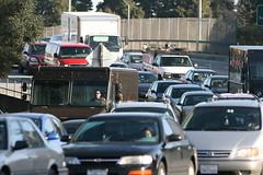 Willow Road morning traffic
