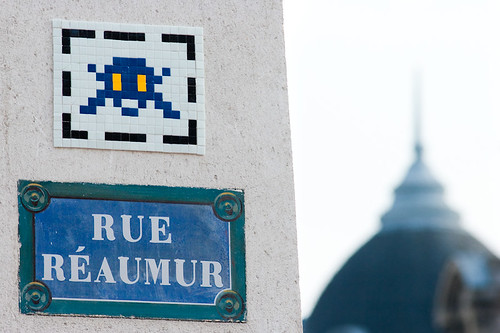 Space Invader @ Paris