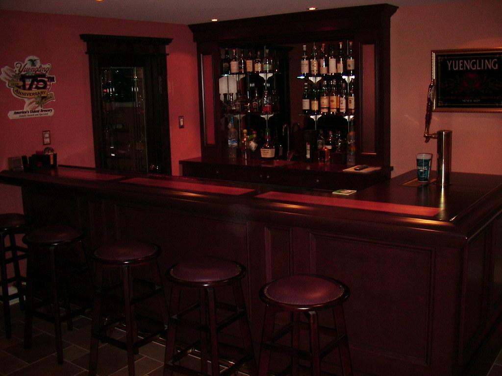 Pics of your home bar set up page 2 community for Basement bar setup