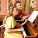 young girls at the piano by emilykiel