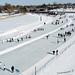 Skating at Dow's Lake, Ottawa - Kite Aerial Photography (KAP) by Rob Huntley Photography - Ottawa, Ontario, Canada
