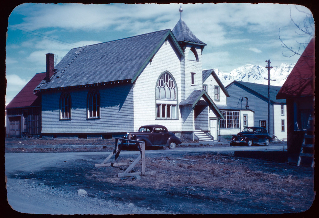 1945 19 New church, Seward Alaska, purchased from Methodists