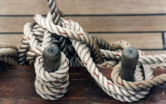 More Ropes on the Nausikaa by magda indigo