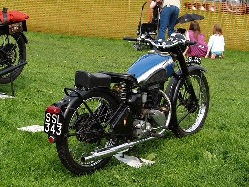 BSA 250cc Motorcycles - 1950