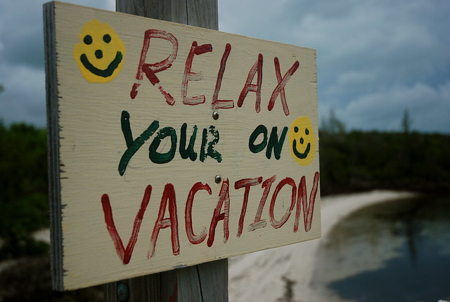 grammar doesn't count on vacation