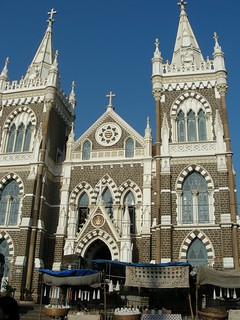 Imageof St. Francis of Assisi Church. india mumbai bandra