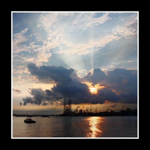 Singapore Sunset 05