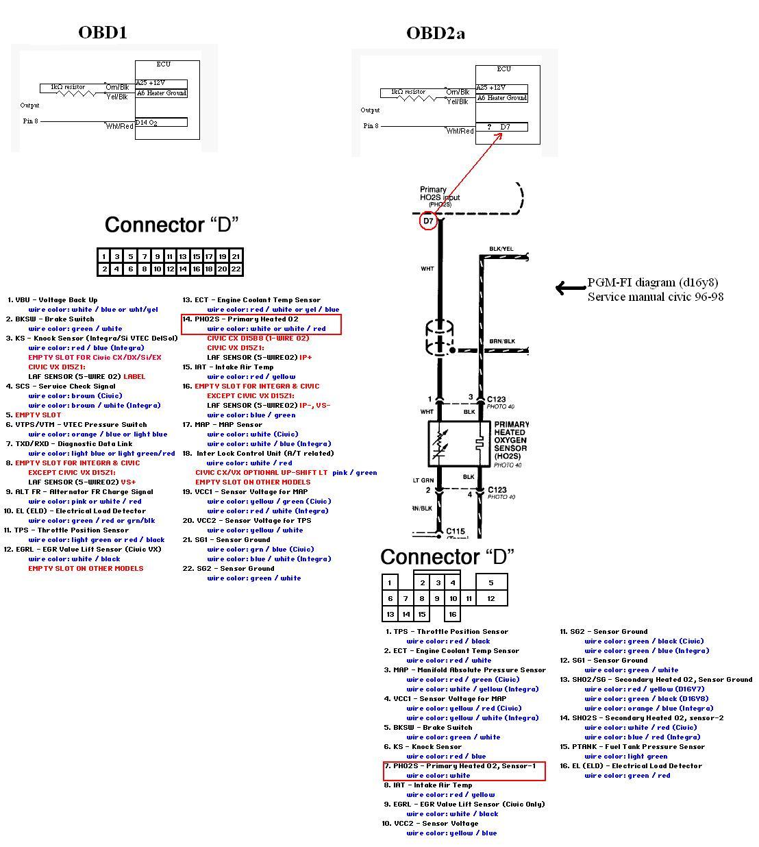 Obd2 O2 Sensor Wiring