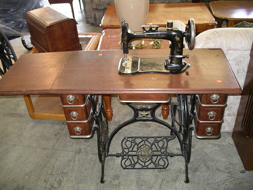 Antique Sewing Machine $200