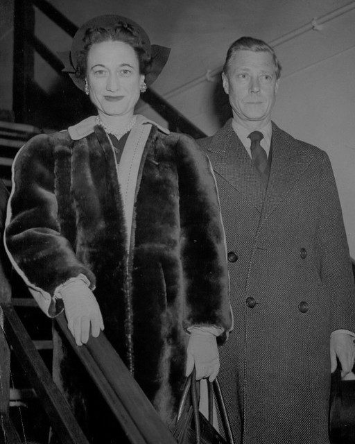 H.R.H. THE DUKE OF WINDSOR - THE DUCHESS OF WINDSOR .
