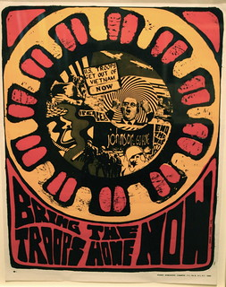 """Bring the Troops Home Now"" Vietnam protest poster, Smithsonian American Art Museum"