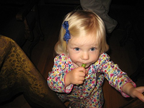 Molly's, party, baby, toddler, blue ribbon, blonde IMG_7120