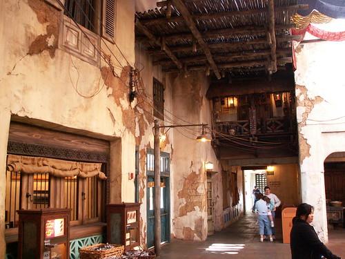 Tusker House Interior Courtyard - Counter service