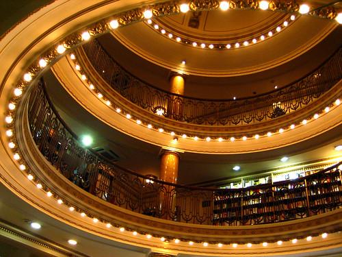 dome at El Ateneo Grand Splendid