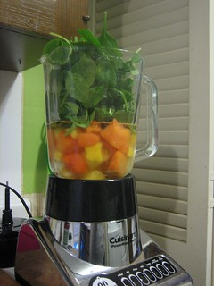 green smoothie...before