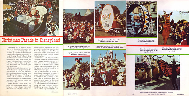 Disneyland Christmas Parade, 1966