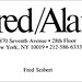 Business card: Fred/Alan, Inc.