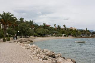 Image of Plaža Trstenica. summer croatia dalmatia orebic canon450d 23072008 westernbalkans2008