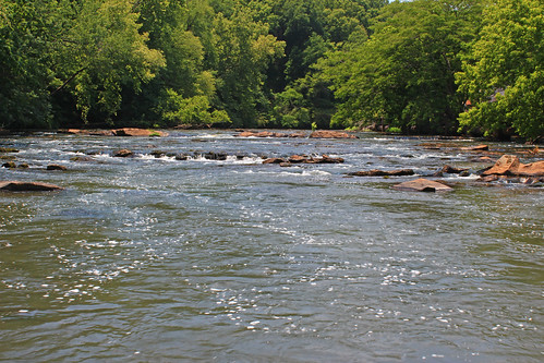 North Oconee River, Whitehall Mill, Clarke County, Georgia 1