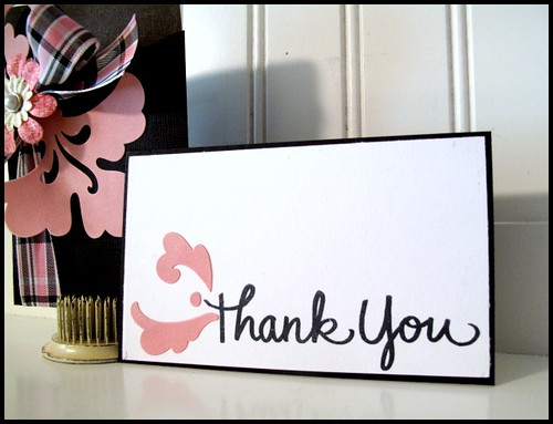 Stampendous Thank you 4