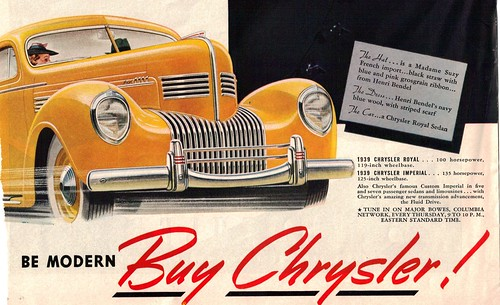 1939 Chrysler Royal  by coconv