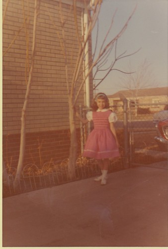 smocked dress, 1963