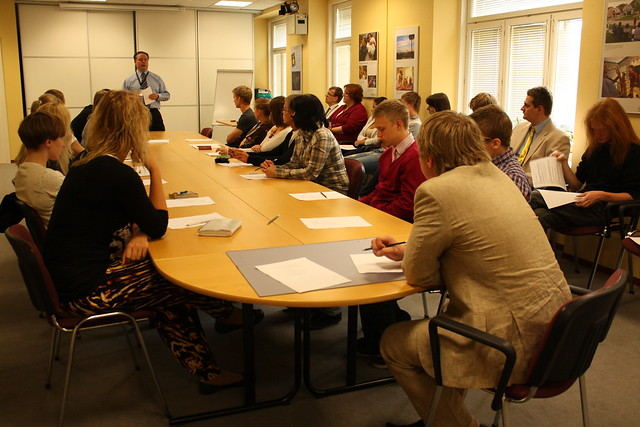 Pre-Departure Orientation for Estonian Students Going to U.S. Universities, June 20, 2011