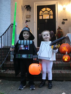 Darth and Leia
