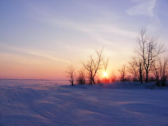 Lac des Deux-Montagnes en hiver - Flickr CC husseinabdallah