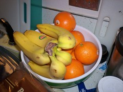 Banana's and Oranges.