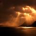 Sunbeams At Dyrafjordur by Ben  H.