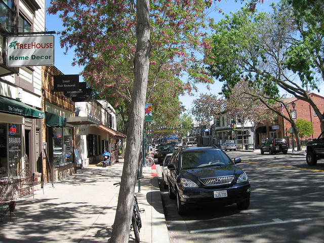 Downtown Pleasanton CA Flickr